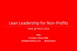 Lean Leadership